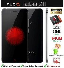 "ZTE Nubia Z11 5"" Android dual sim smartphone octa core 3GB ram 64GB uk débloqué"