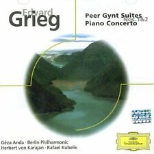 Grieg: Peer Gynt Suites Nos. 1 & 2; Piano Concerto New CD