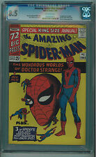 AMAZING SPIDER-MAN ANNUAL #2 CGC 8.5 HIGH GRADE OFF-WHITE PAGES SILVER AGE
