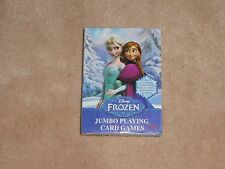 NEW, DISNEY FROZEN JUMBO PLAYING CARD GAMES