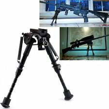 "Adjustable 6"" - 9"" Legs Sniper Hunting Rifle Bipod Sling Swivel Holder Mount #MC"