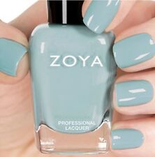 ZOYA ZP828 LAKE soft blue cream nail polish lacquer WHISPERS 2016 Collection NEW