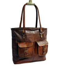 57 Genuine Pure Leather Vintage Handmade Shopping Women's Shoulder Bag