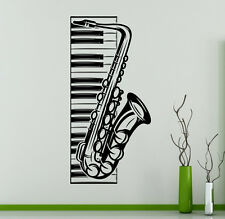 Music Piano Vinyl Decal Saxophone Vinyl Stickers Home Interior Window Sticker 20