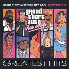 Grand Theft Auto: Vice City Greatest Hits CD NEW Game Soundtrack