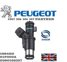 Genuine Petrol Fuel Injector Peugeot  206 306 307 1007 Partner 1.4(i) 1984E0 NEW