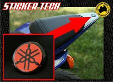YAMAHA R6 TAIL FAIRING COVER RED & BLACK TUNING FORK EMBLEM BADGE STICKER DECAL