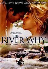 BRAND NEW DVD // The River Why // Amber Heard, Zach Gilford, Kathleen Quinlan,