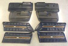 1971 - 1976 Chevrolet Impala Caprice 4 Door Post Door Panels Donk 1974 72 73 75