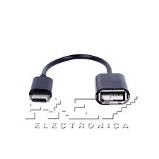 Cable Adaptador OTG USB 3.1 Tipo C Macho a USB Hembra v182