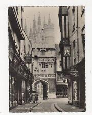 Mercery Lane Canterbury RP Postcard 521a