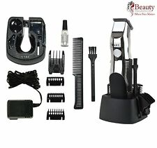 Wahl recargable sin cuerda Body Hair Trimmer/Barba Cuello Clipper 9916-1117