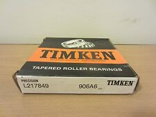 TIMKEN L217849 906A6 PRECISION TAPERED BEARING SET