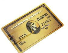 American Express bank gold credit card 32GB USB 2.0 flash drive memory stick