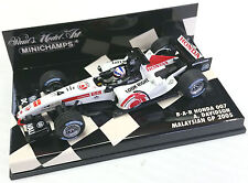 MINICHAMPS 1/43 2005 BAR HONDA 007 MALAYSIAN GP ANTHONY DAVIDSON 4000050104