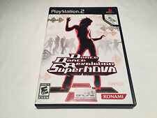 Dance Dance Revolution Supernova (PS2) Black Label Complete LN Perfect Mint!