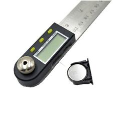 Useful 2 In 1 Digital Ruler Protractor 360 Degree Electronic 200mm Angle Finder