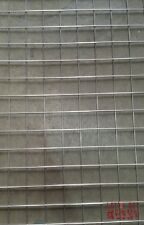 "304 Stainless Steel 2"" x 2"" Welded Wire Mesh 3mm wire 8' x 4' sheets"