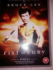 FIST OF FURY DVD 2 DISC HKL PLATINUM EDITION CLASSIC BRUCE LEE