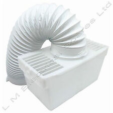 Tumble Dryer Condenser Air Vent Hose Pipe Kit Box Adaptor For White Knight 37AW