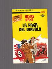 LA PAGA DEL DIAVOLO di Henry Kane - collana MYSTERY n. 8