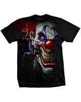 DARKSIDE CLOTHING Clown mens t-shirt/tee/top killer/horror/circus/joker/evil