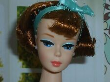 Barbie Vintage Repro American Girl Dark Titian Hair Side-Part SL Newly De-Boxed