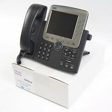 Cisco CP-7970G 7970 SCCP VoIP IP Telephone Phone PoE - Quality Refurbished