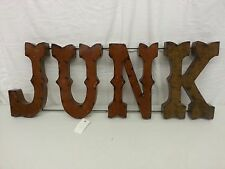JUNK*Sign*3D*METAL*Iron*Rustic*MEXICAN*YARD*ART*MAN*CAVE*GYPSY*BAR*Vintage