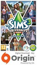 THE Sims 3 University Life Expansion Pack PC e MAC chiave di origine