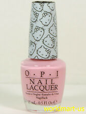 OPI Nail Polish Lacquer - HELLO KITTY Collection - NL H84- Small + Cute = Heart