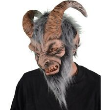 Krampus Latex Mask Goat Demon Evil Santa Costume Christmas Halloween