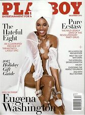 PLAYBOY MISS DECEMBER EUGENA WASHINGTON 2015 HOLIDAY GIFT GUIDE DECEMBER 2015