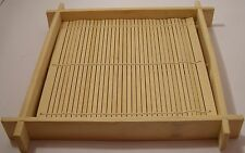 Sushi Mat Wooden Server 19x19cm 3cm deep Superior quality Bamboo1019