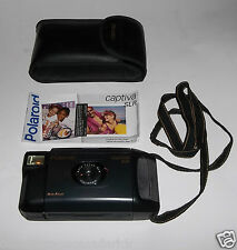 Polaroid Captiva AF SLR Film Camera w/ Carrying Case & Instructions Works Great