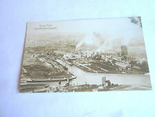 Vintage Rouge Plant Ford Motor Automobile Car Co Dearborn MI Real Photo Postcard