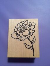 SAVVY RUBBER Stamps Cabbage Flower