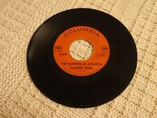 CLAUDE KING THE BURNING OF ATLANTA/DON'T THAT MOON LOOK LONESOME COLUMBIA   M-