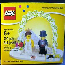 LEGO MiniFigure Wedding Set Bride Groom Table Decoration [853340] cake FreeShip