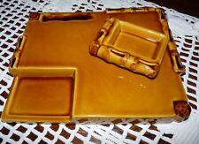 Ancien plateau à fromage Ferlay de Vallauris  et son beurrier indépendant