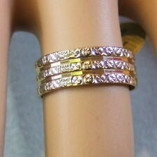 9ct gold second hand fancy band ring