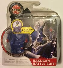 1 2011 Bakugan Mechtanium Surge Battle Suit Blue Fortatron