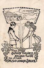 Pro Colonia Torinese per Bambini Poveri a Salice - VG - Ill. Attilio - TL055