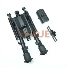 Bipod  6-9 SWIVEL Airgun Rifle Gun Hunting Picatinny Style Rail Adaptor