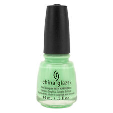 China Glaze Clay Lacquer Nail Polish HIGHLIGHT OF MY SUMMER Light Green 81328