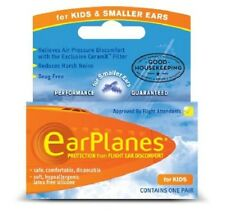 Kids Earplane Ear Plugs For Airplane Travel - Child (ages 1-10) (3 PACK)