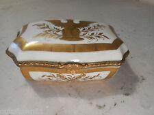 French Pocelain Desser Box Vincennes  ref2436