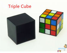 Triple Cube Trick, Magic cube,disappearing magic transfer production,Illusions