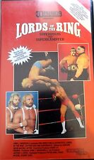 Pro Wrestling Illustrated Lords of The Ring ORIG VHS WWE Wrestling WWF