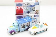 Tomica Takara Tomy New Princess Olaf Ana the snow Queen Theme Toy Car 2X SET